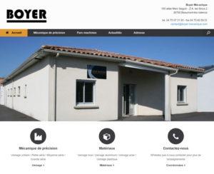 Site de Boyer Mécanique